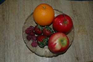 Fruit dish.