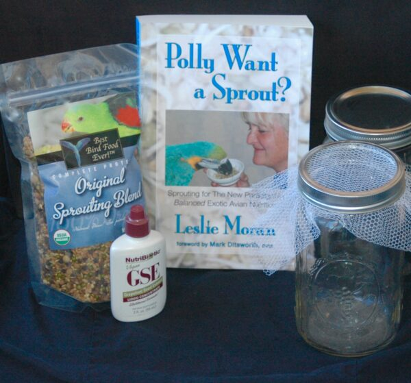 Original sprouting kit with 2 sprouting jars