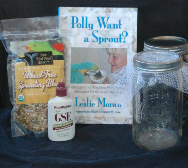 Wheat-free kit with 2 jars