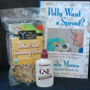Wheat-free sprouting kit
