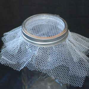 White nylon net